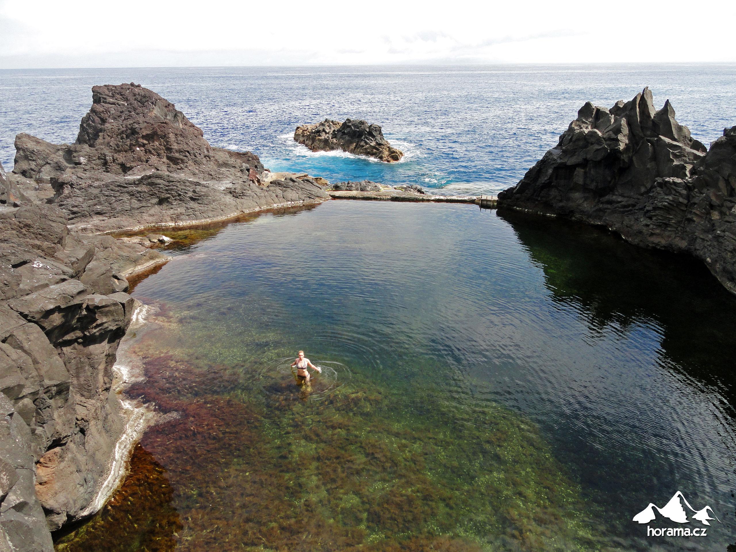 Seixal Madeira bazény pools