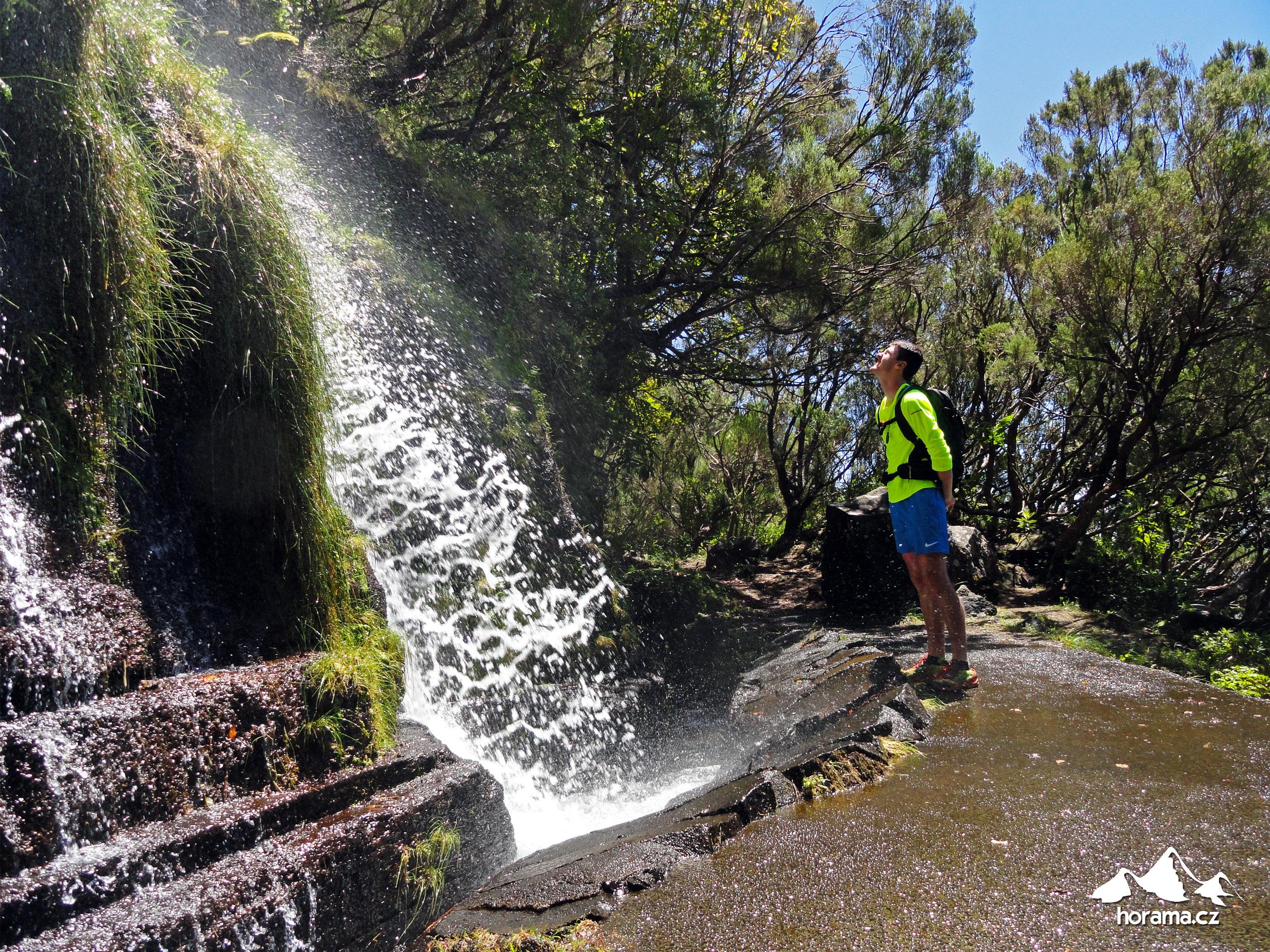 Boca Da Encumeada vodopád Madeira