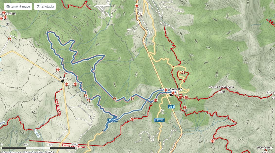 Trasa vavřínovým pralesem Madeiry