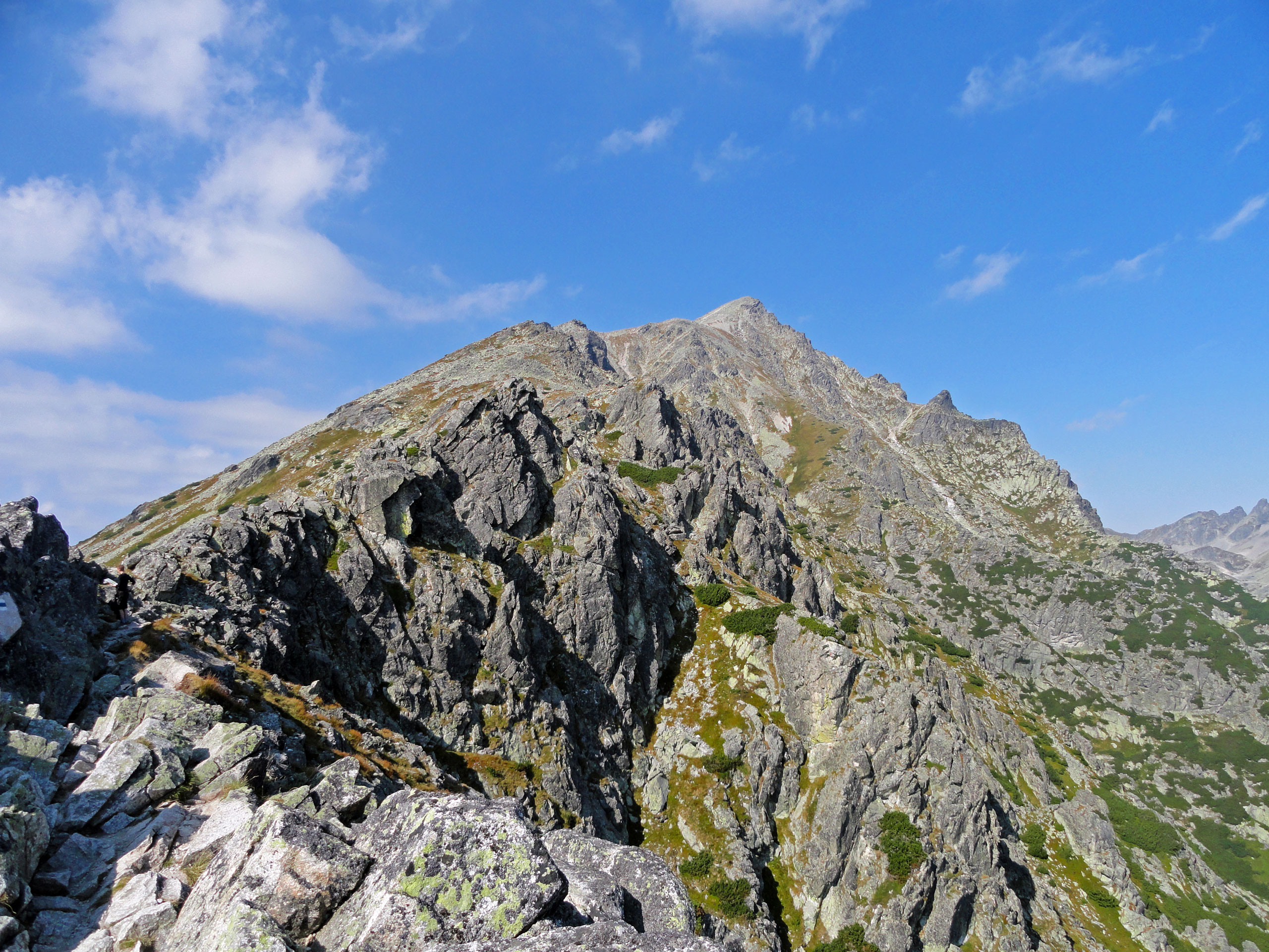 Výstup na Slavkovský štít aneb pořád do kopce za super výhledem