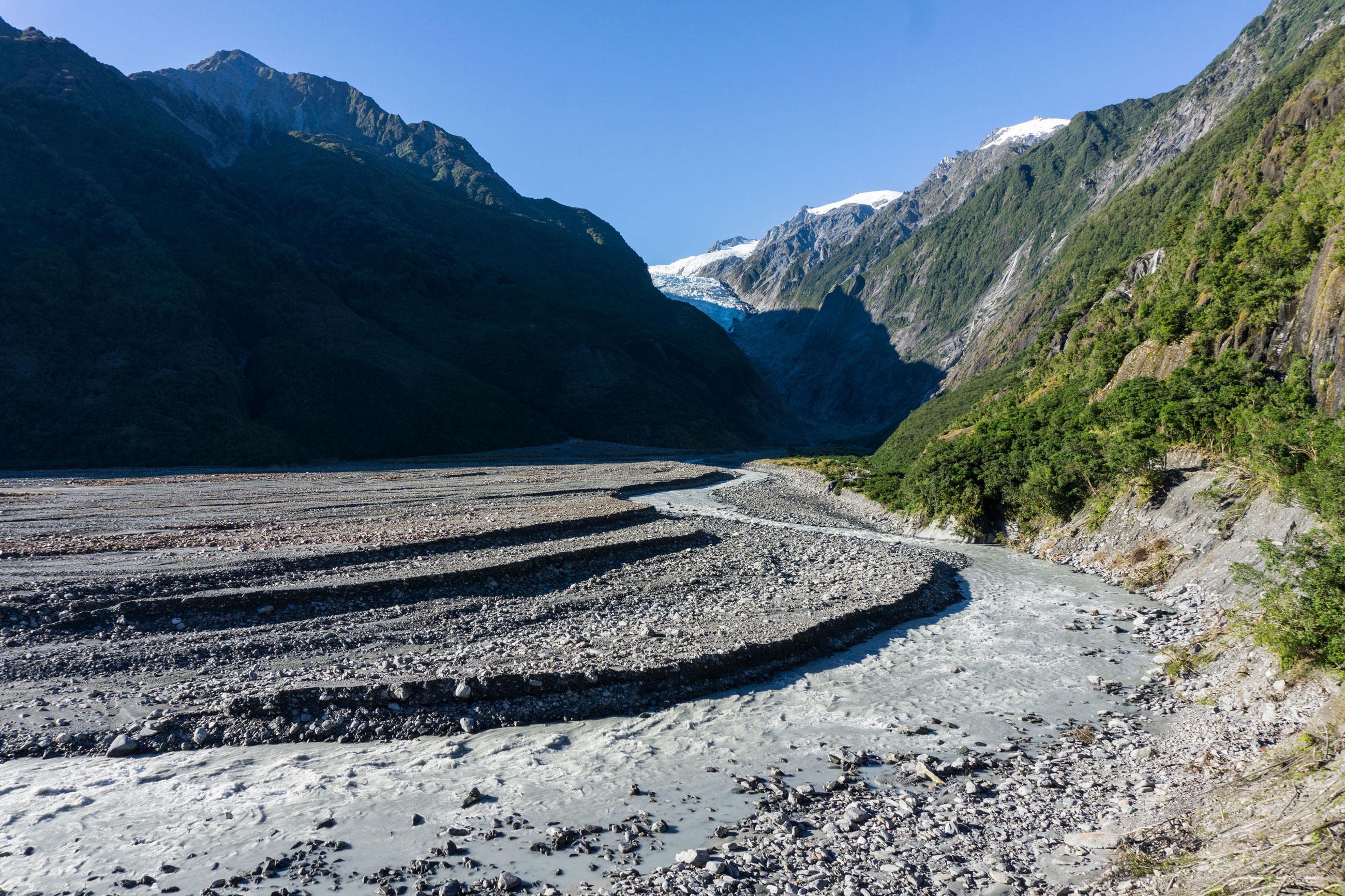 Po západním pobřeží k ledovcům Fox a Franz Josef