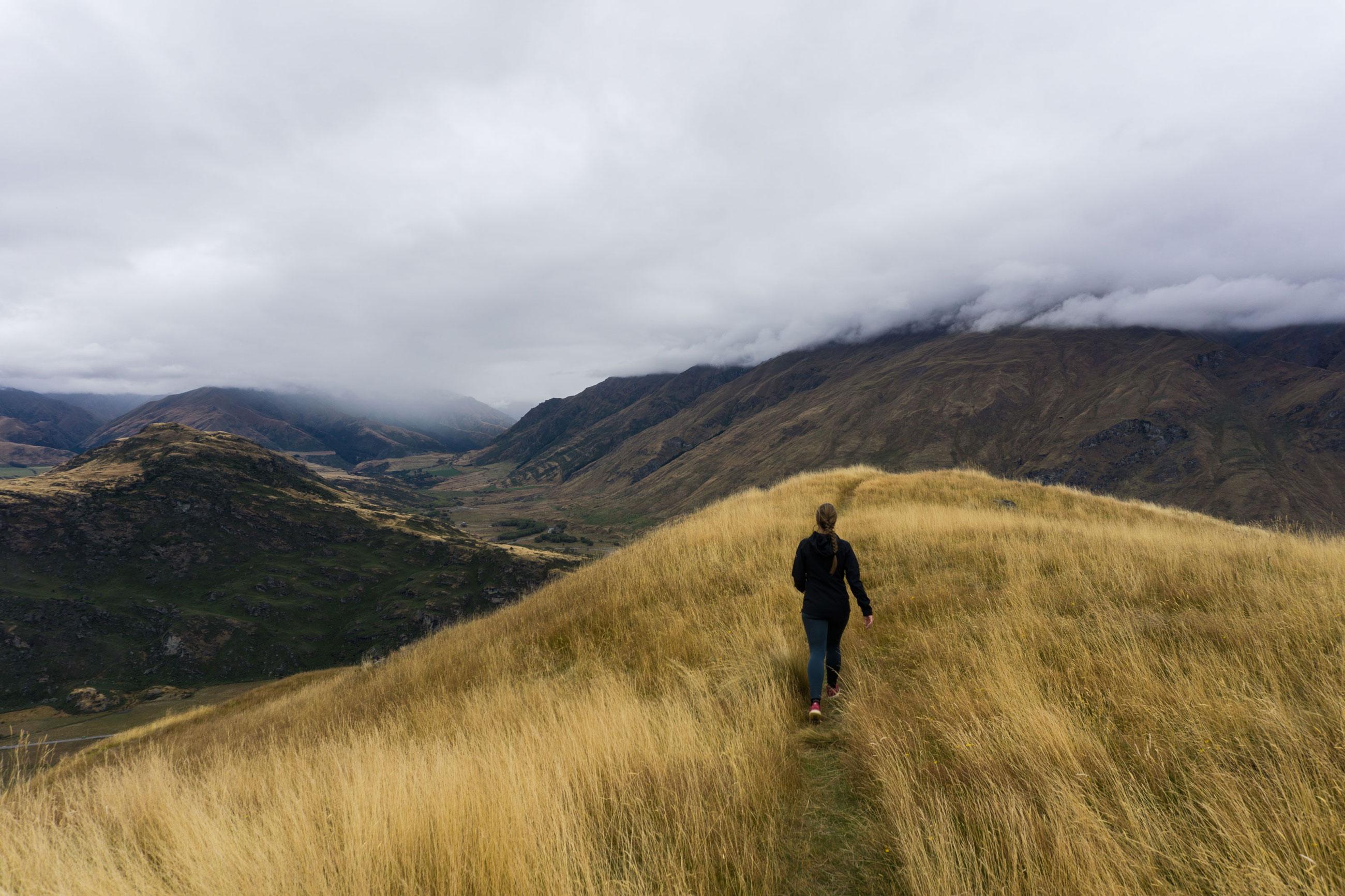 Vzhůru do Wanaky na Mount Iron a Rocky Mountain