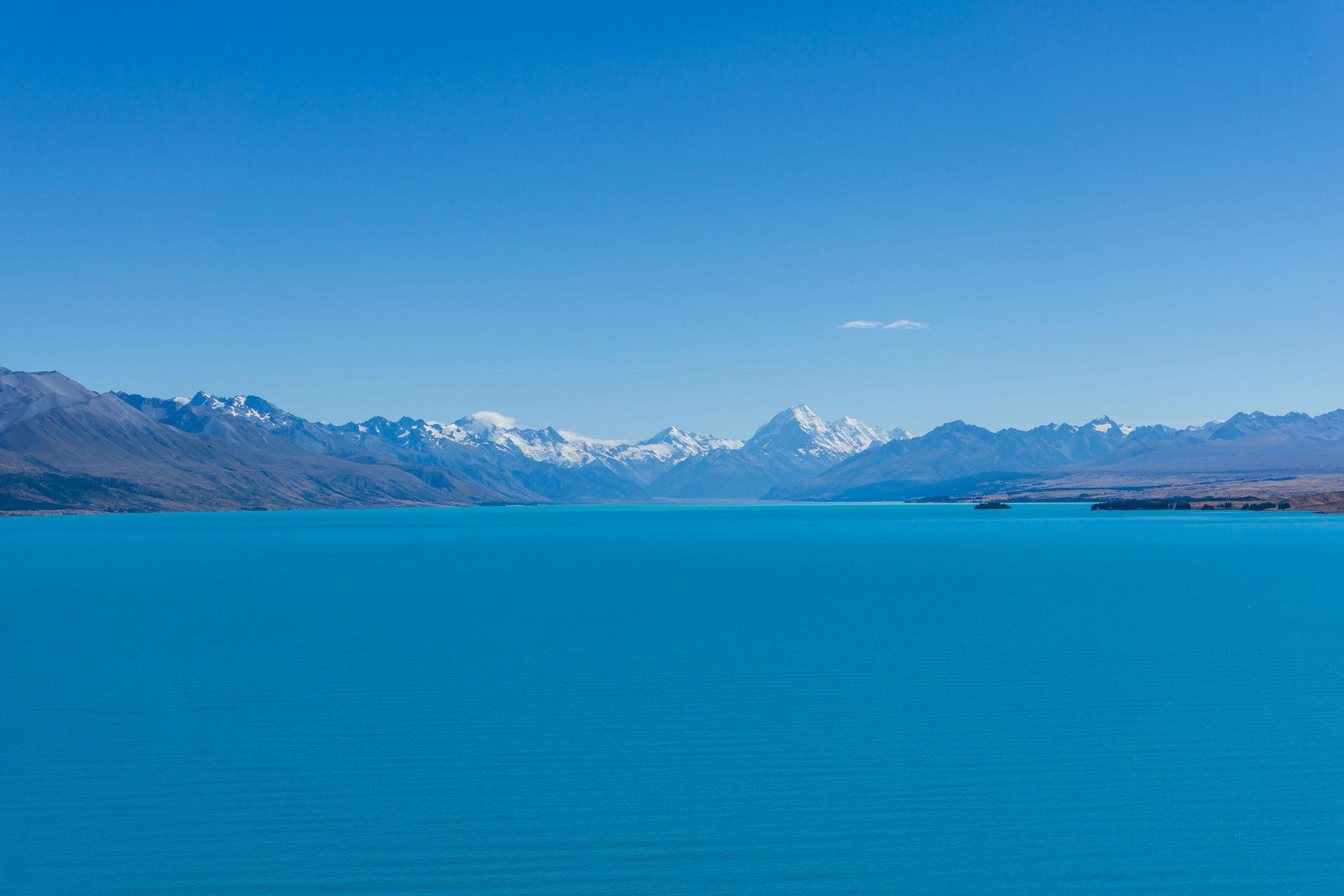 Do srdce Jižních Alp za jezery a ledovci