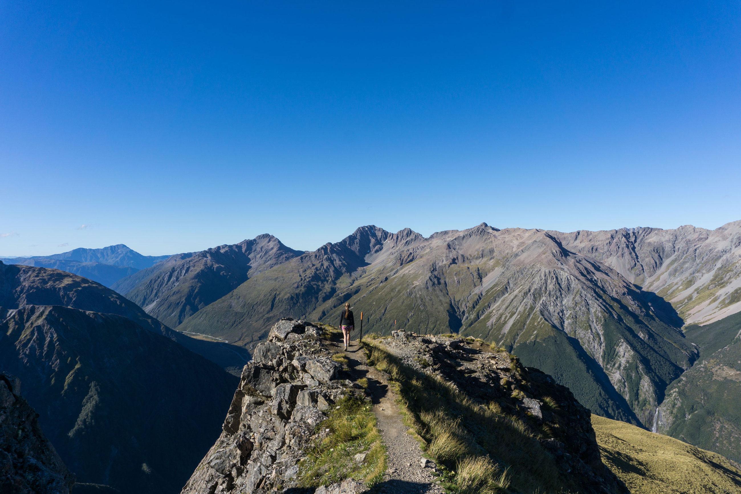 """Avalanche Peak aneb kde """"prudký výstup"""" nabírá jiný význam"""