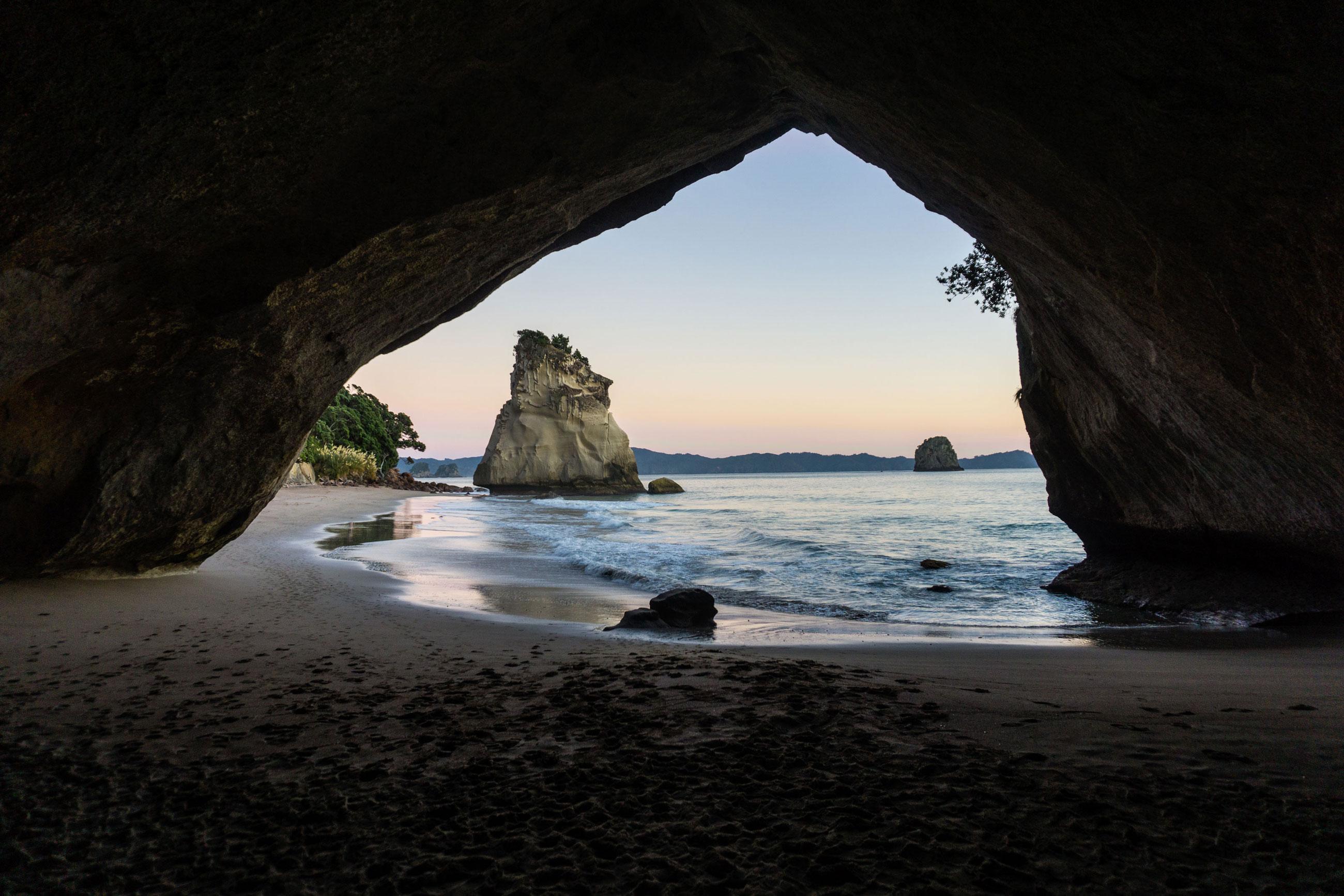 Po plážích a zátokách poloostrova Coromandel