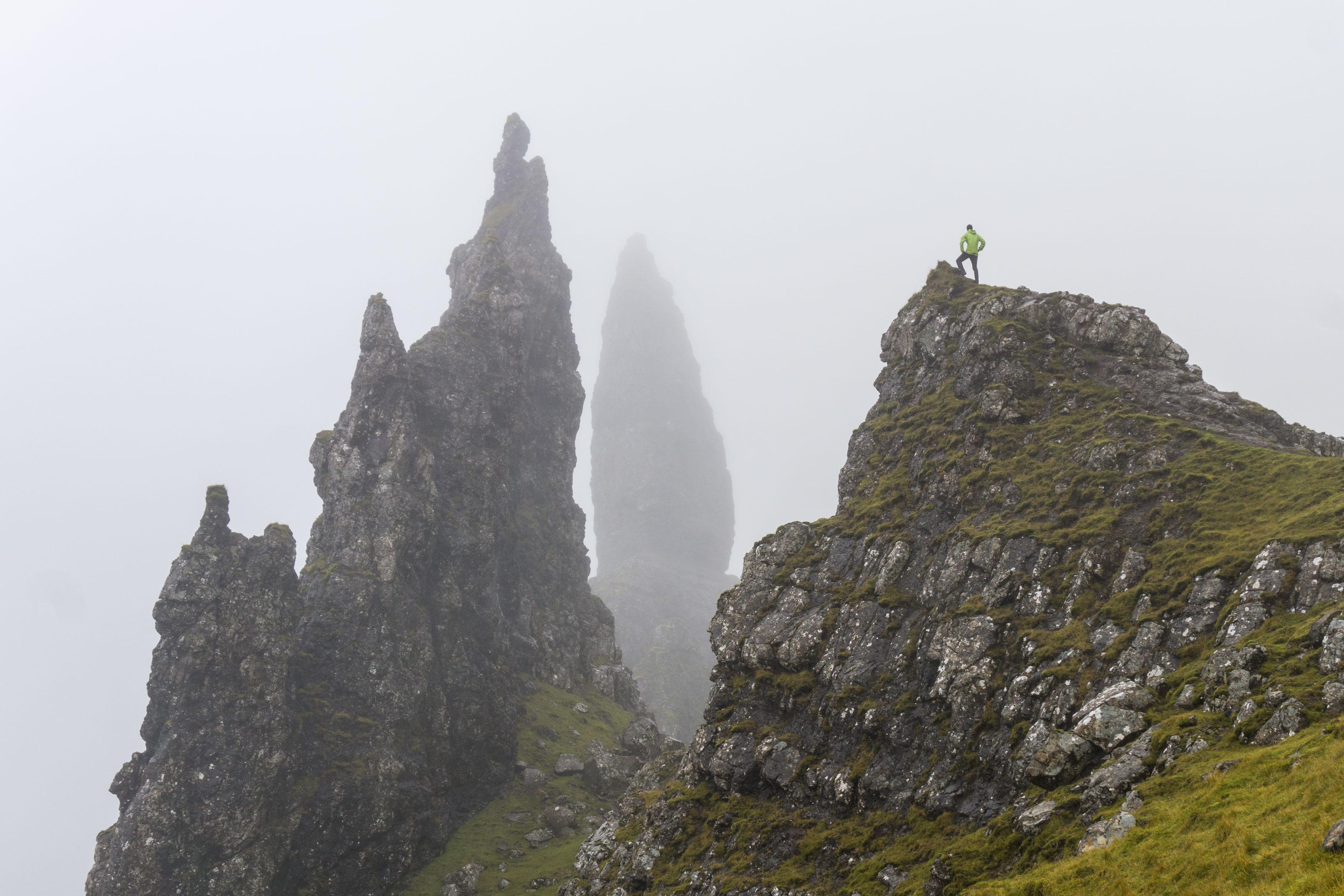 Ostrov Skye aneb naše mlhavodeštivá tečka za Skotskem