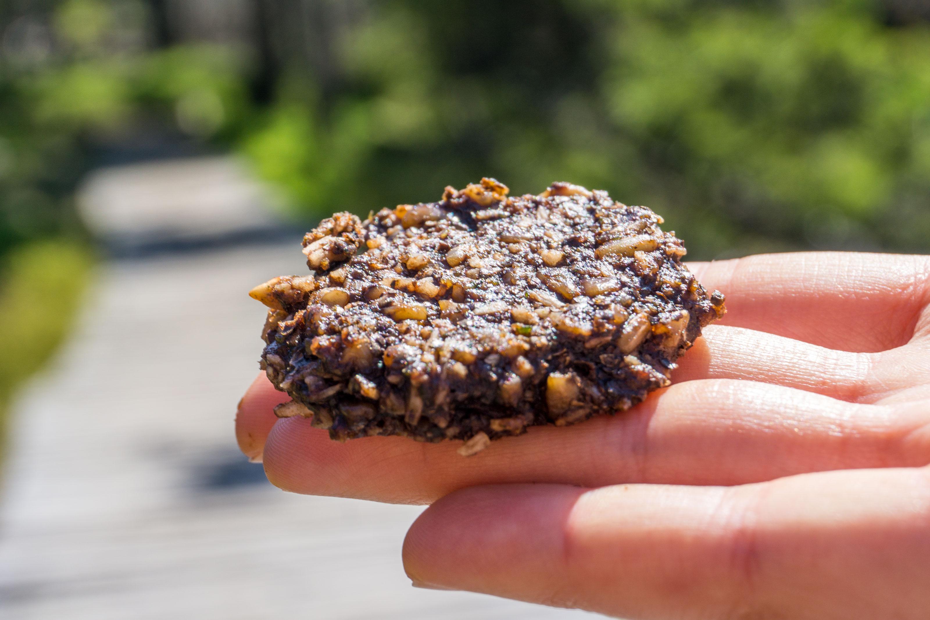 Kakaové sušenky z konopného semínka
