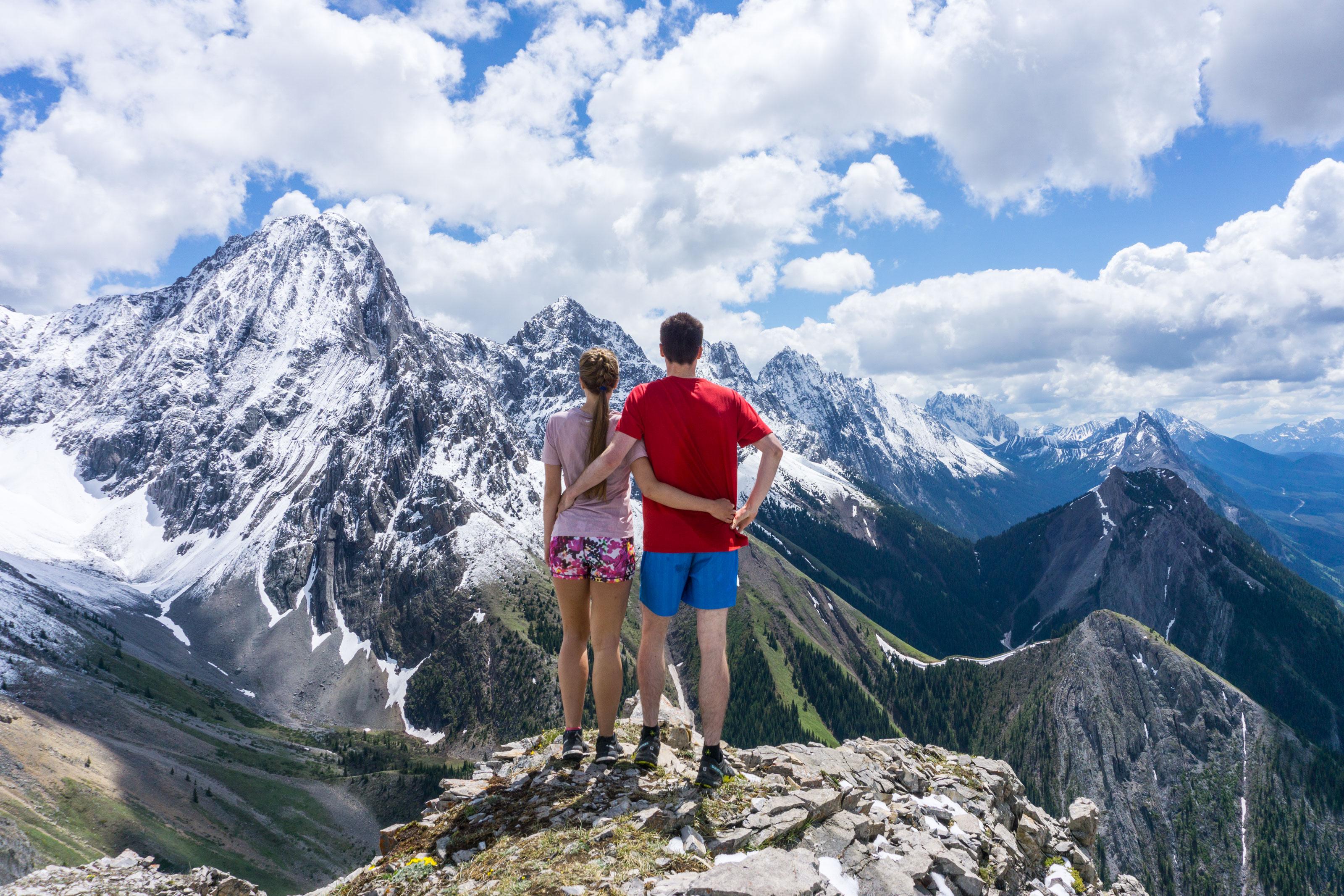 Grizzly Peak a Kananskis Lakes naštěstí bez grizzlyho