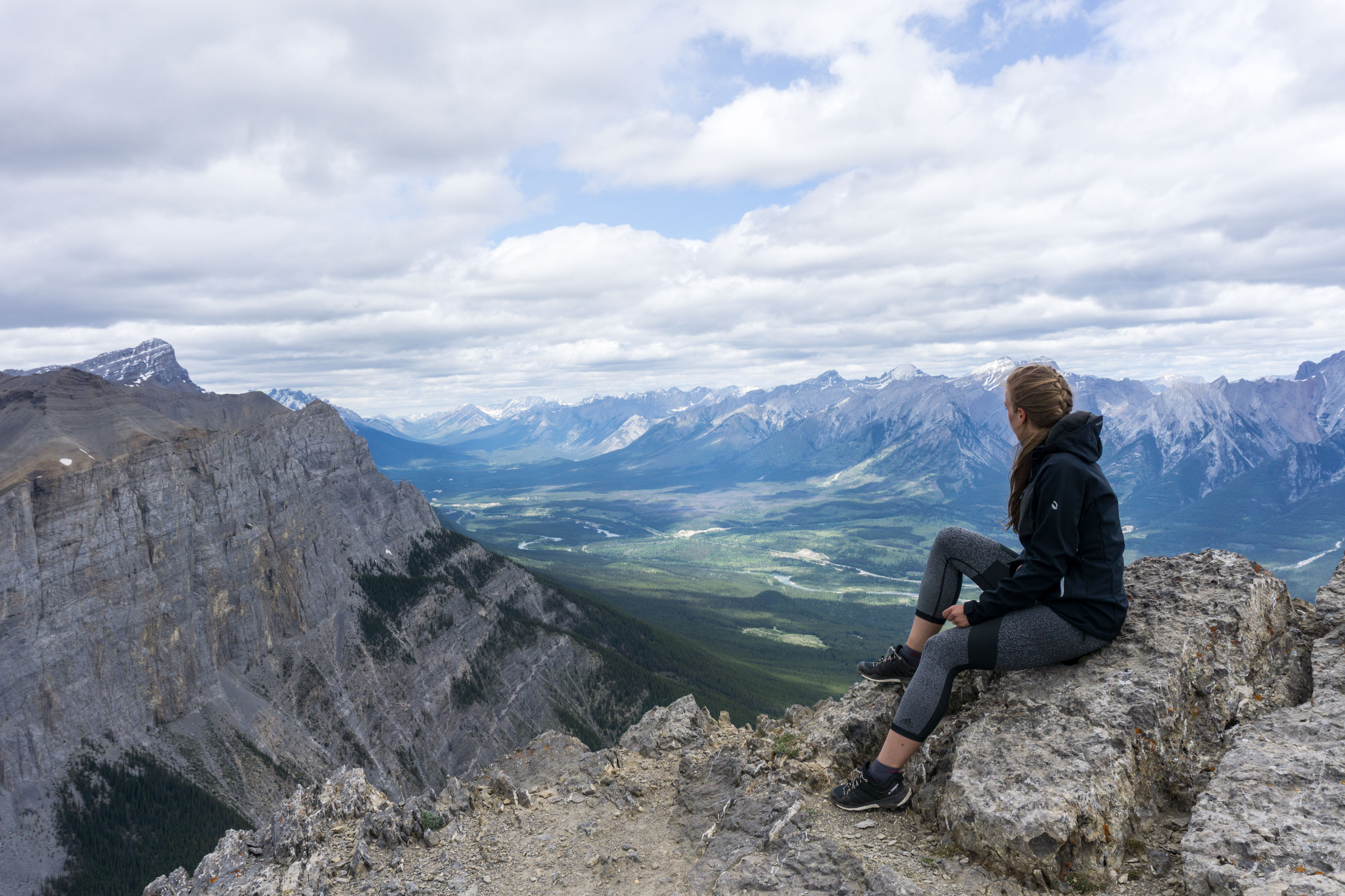 Ha Ling Peak aneb parádní výhled na Rockies skoro bez námahy