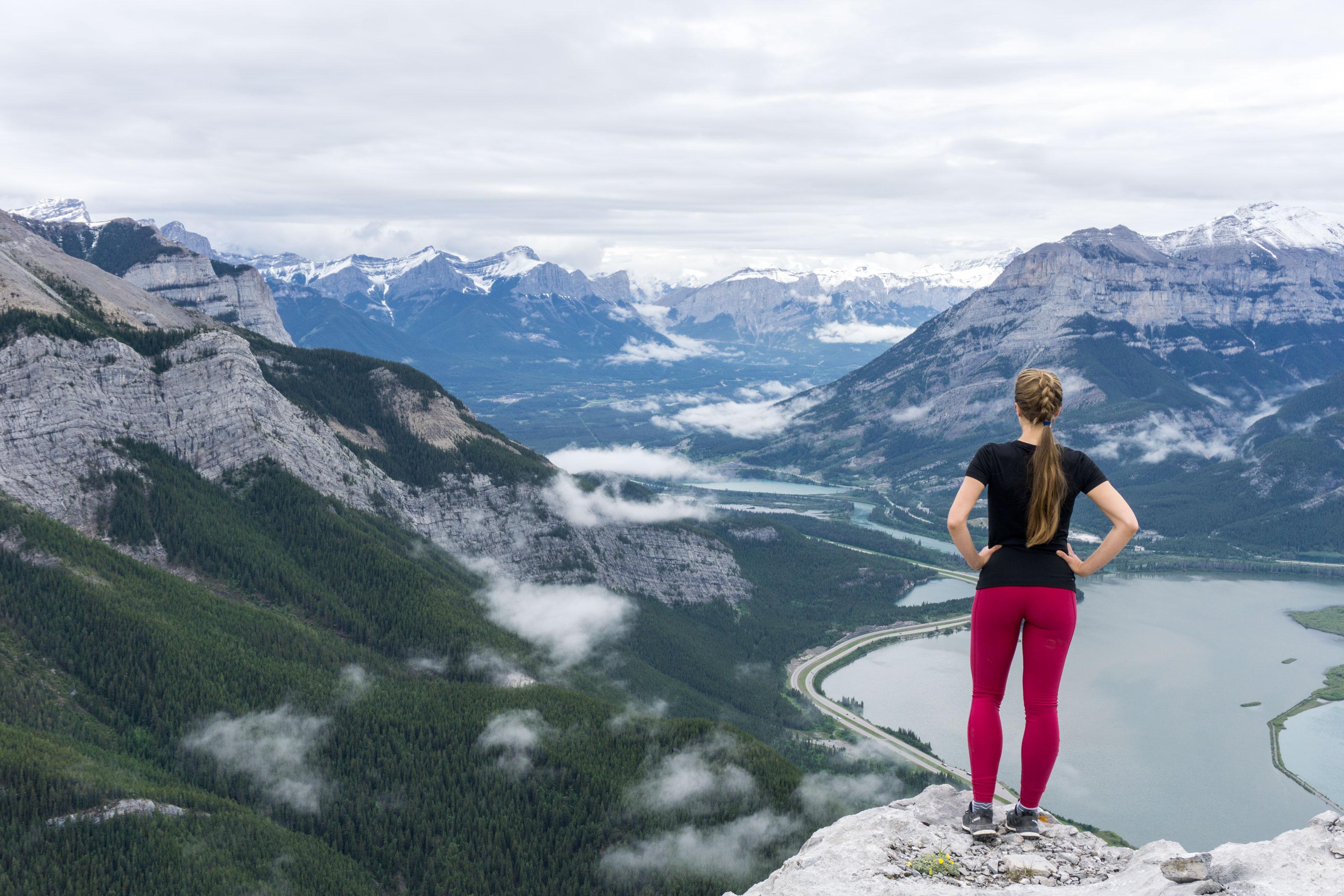 Hřebenovka nad Bow Valley přes Heart Mountain a Grant MacEwan Peak