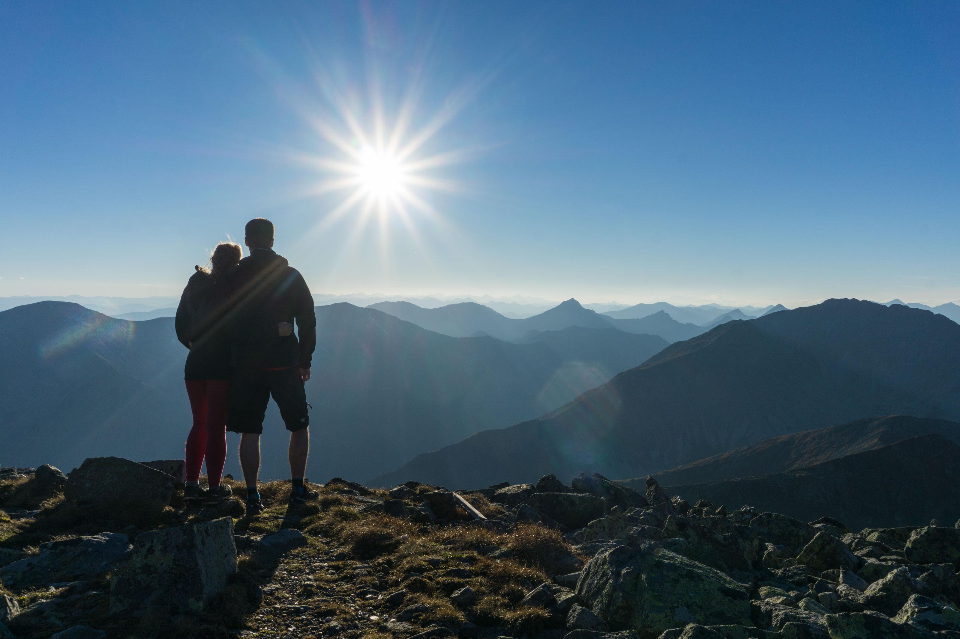Větrný podzimní bivak na hřebeni Seckauských Alp aneb vzhůru na Hochreichhart