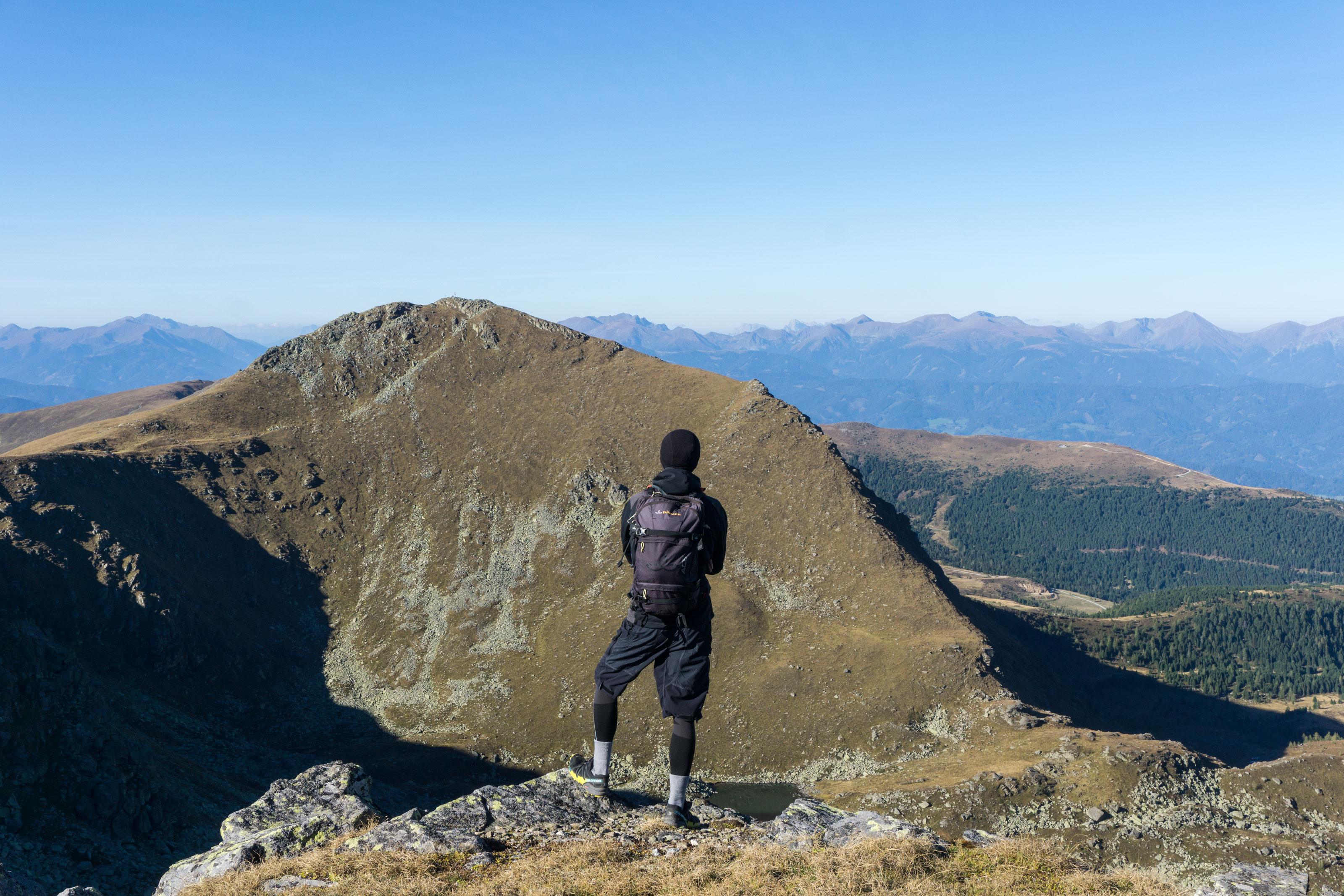 Okružní hřebenovka přes Kreiskogel a Zirbitzkogel v Lavanttalských Alpách