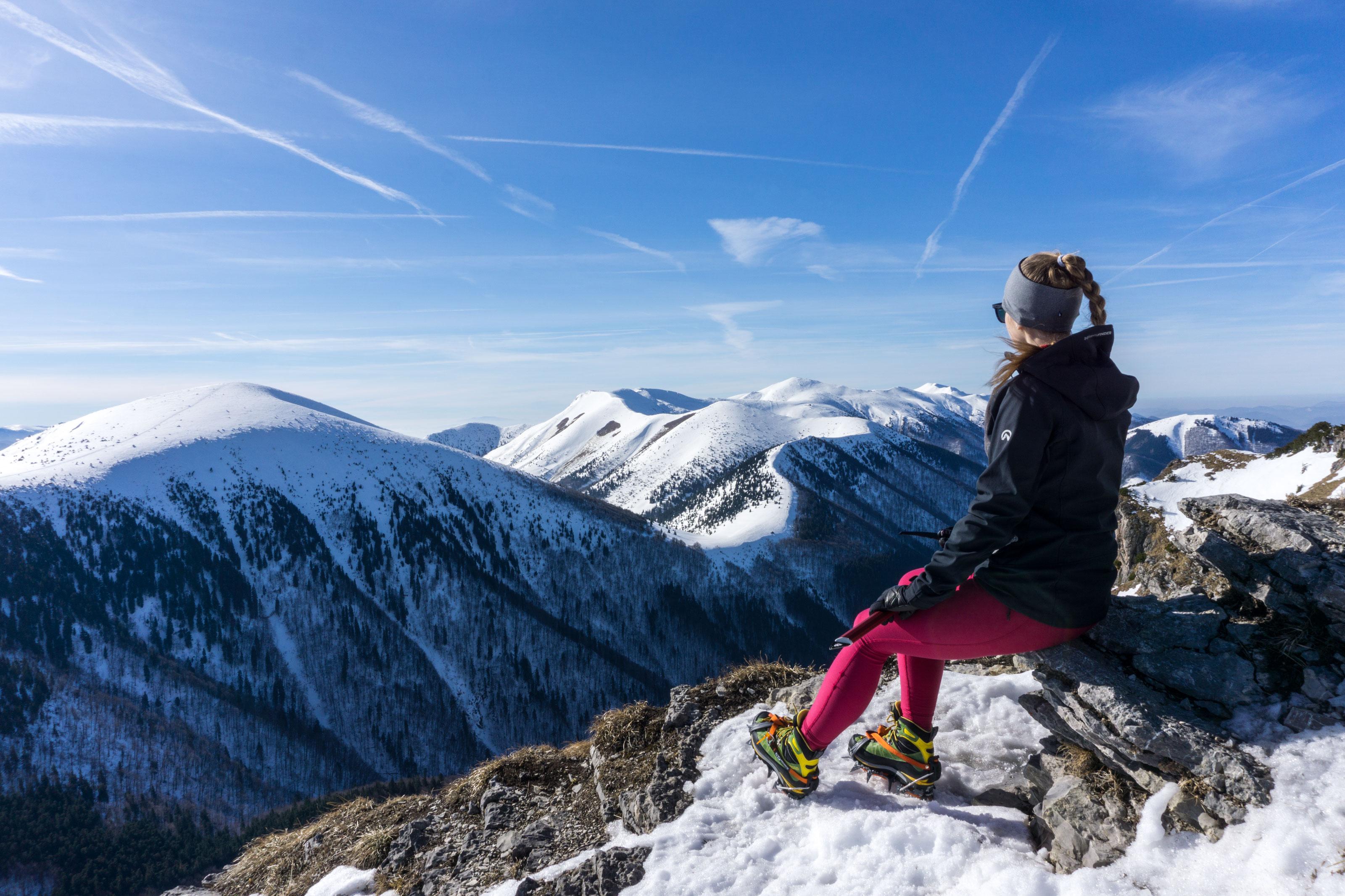 Zimní výstup na Velký Rozsutec a Stoh na Malé Fatře