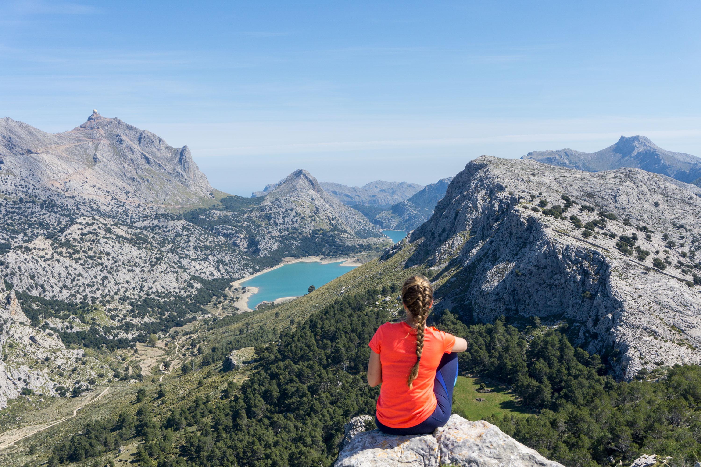 Tři tisícové vrcholy v Serra de Tramuntana s parádním výhledem na Mallorku