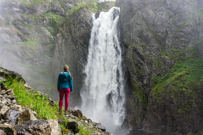 Vodopády jižního Norska Langfossen, Låtefossen, Skytjefossen, Vøringsfossen přímo u silnic