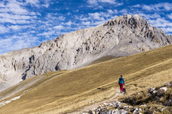 Výstup na Corno Grande, nejvyšší horu italských Apenin