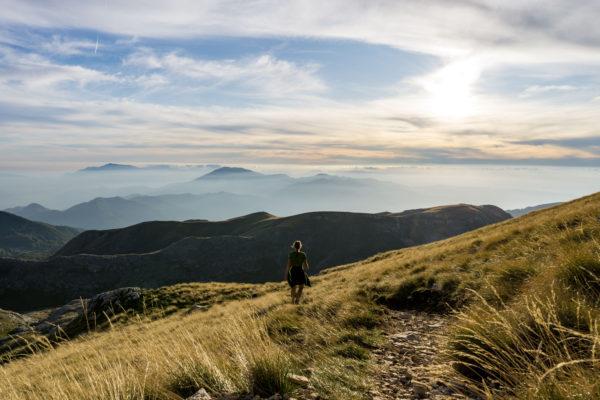 Mezi krávami, liškami i jeleny na Monte La Meta v Apeninách