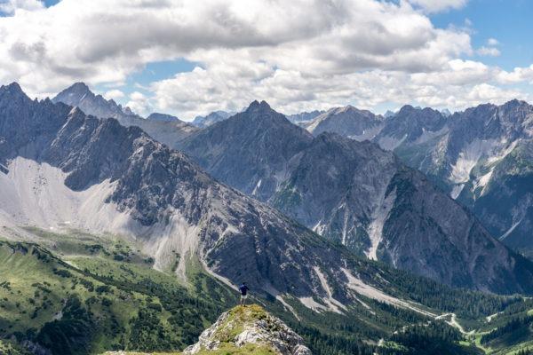 Odpočinkový výlet na Falscher Kogel za výhledem na Lechtalské Alpy