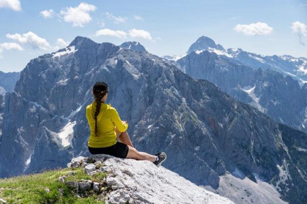Mala Mojstrovka, výhledový vrchol uprostřed Julských Alp